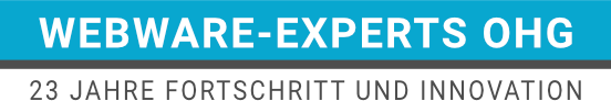Webware-Experts OHG 20 Jahre